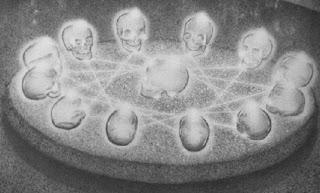 las trece calaveras leyenda