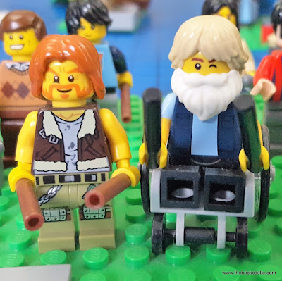 LEGO Ginger Baker of Cream, and Robert Wyatt of Pink Floyd