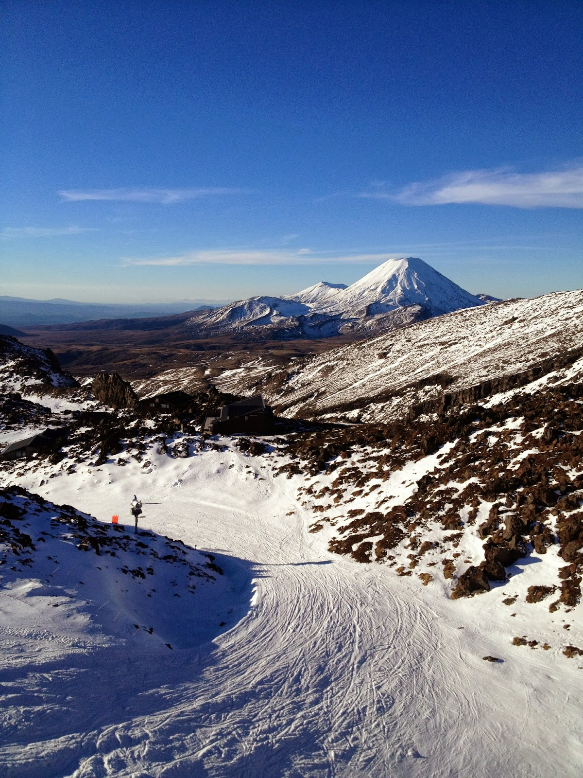 how to get to mt ruapehu from auckland