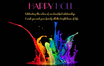 Happy Holi Wallpapers, Sms, Quotes for Facebook Whatsapp Status