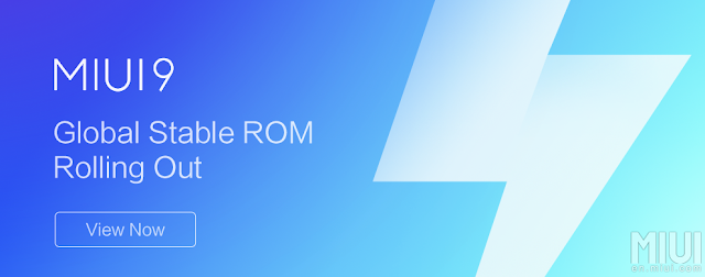 MIUI 9 Global Stable ROM