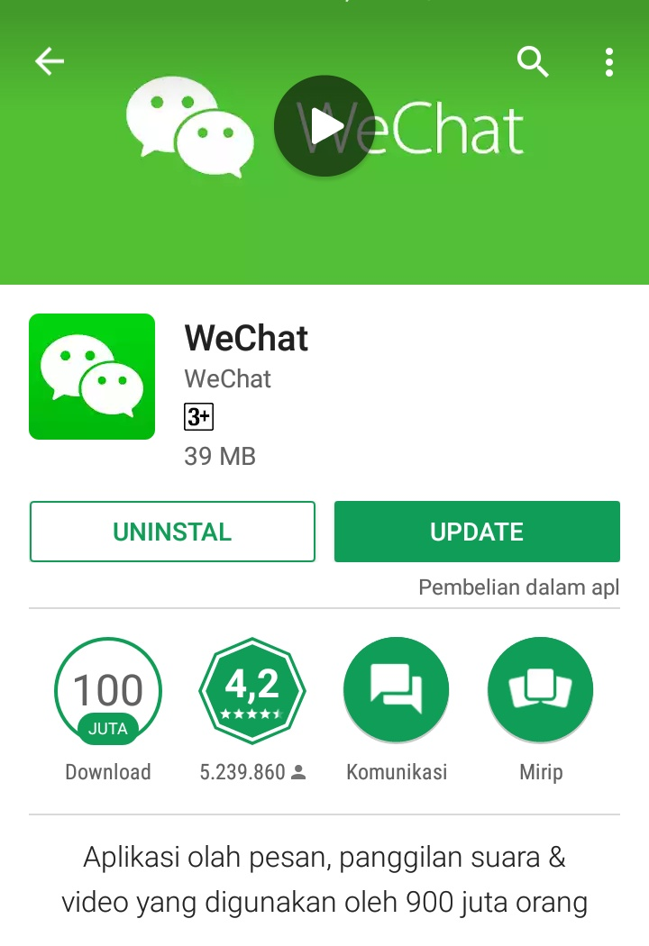 Aplikasi chat dengan orang di sekitar