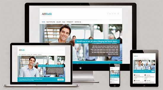 Attitude - Free Responsive Retina Ready WordPress Theme