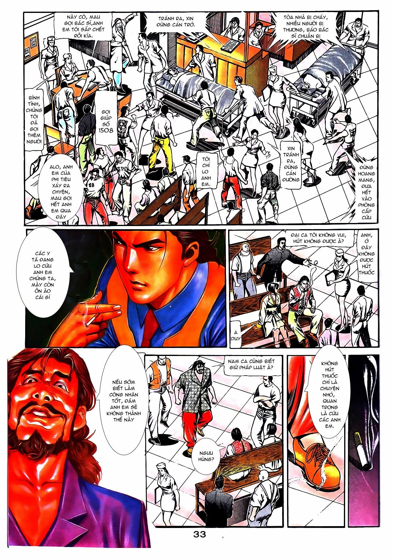 Người Trong Giang Hồ chapter 108: phong vũ cố nhân lai trang 8