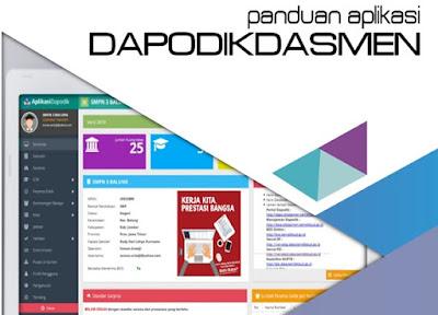 Download Panduan Aplikasi Dapodikdasmen Versi 2019