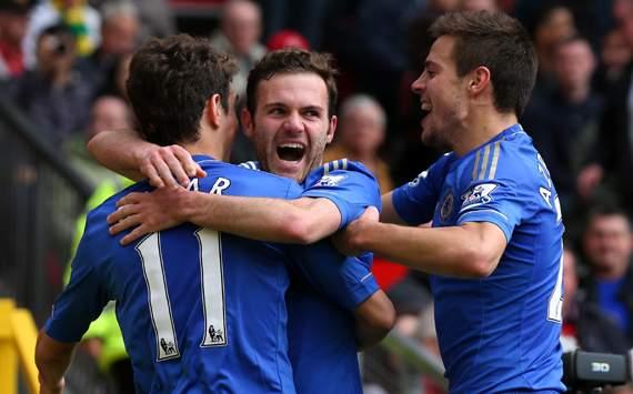 Manchester United VS Chelsea 2013