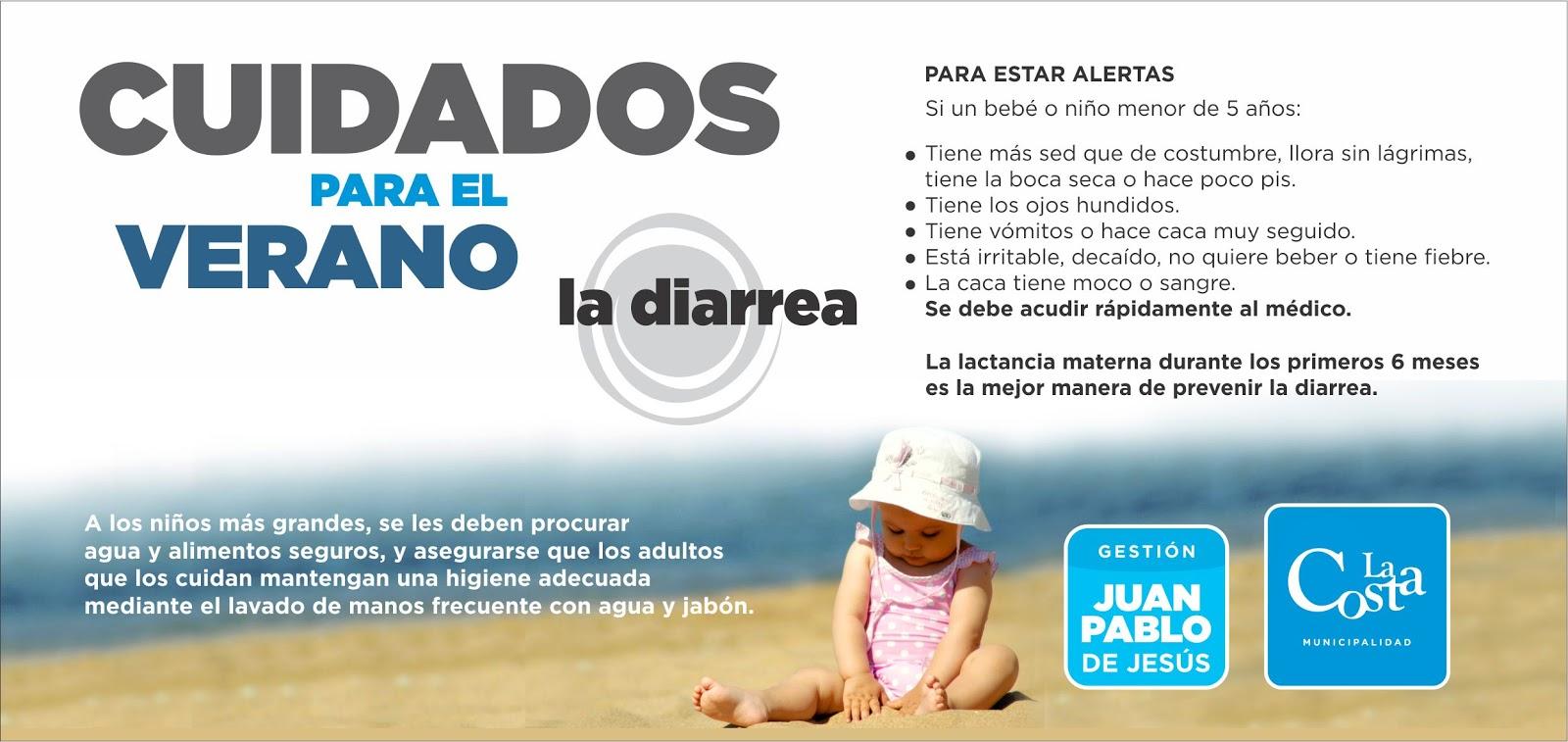 Cuidados del verano la diarrea en ni os municipalidad de la costa - Alimentos para evitar la diarrea ...