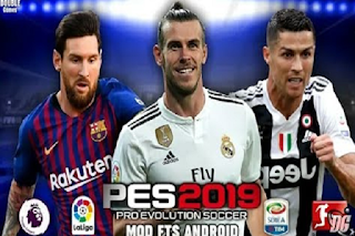 Download Fts Mod PES 2019 Exclusive Hd Graphics New Kits Past Times Ryan Game