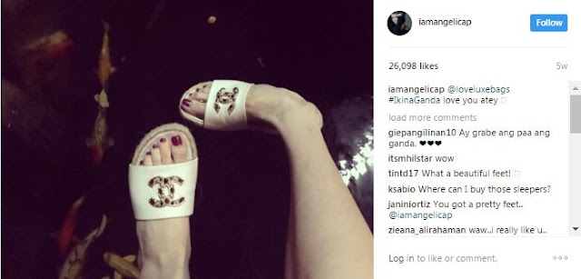 LOOK! Angelica Panganiban's Expensive Pair of Slippers Goes Viral! It's so Classy!