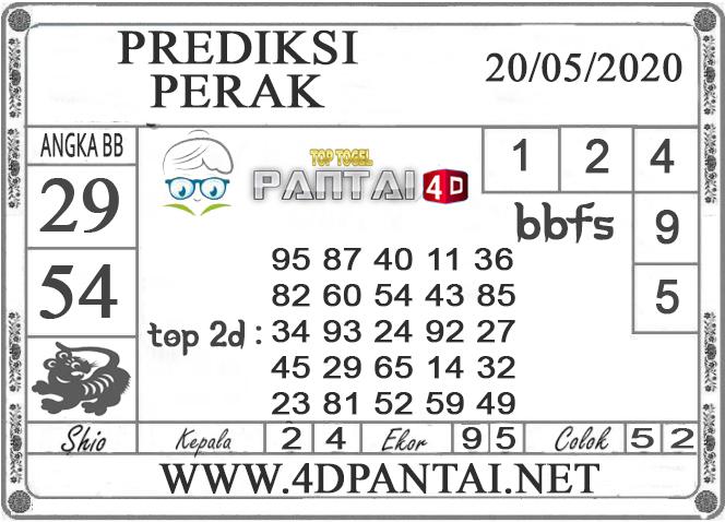 PREDIKSI TOGEL PERAK PANTAI4D 20 MEI 2020