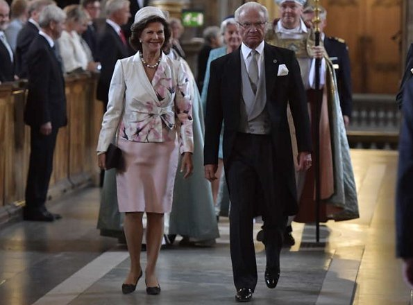 Swedish Royal Family attended Te-Deum service for Prince