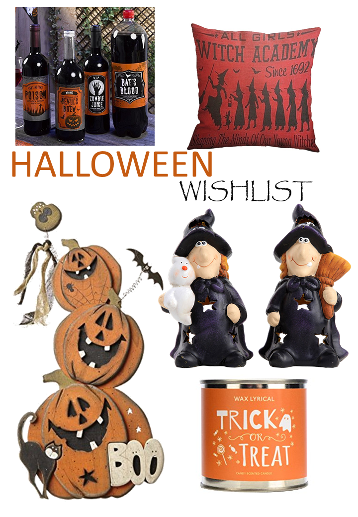 Halloween Wishlist 2016
