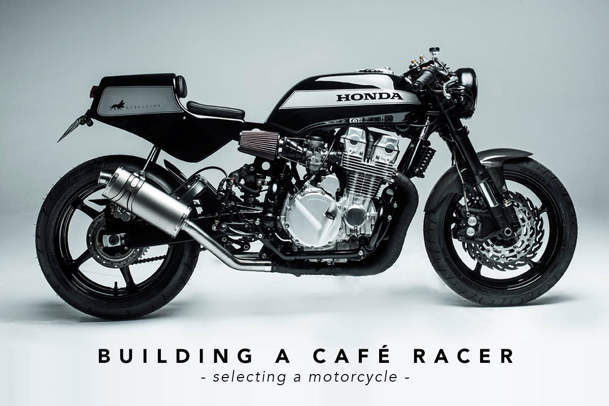 Fabuleux Building a Cafe Racer: Selecting a motorcycle ~ Return of the Cafe  JD42
