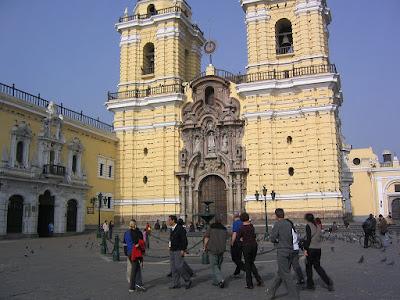 Iglesia monasterio San Francisco, catacumbas, iglesias Lima