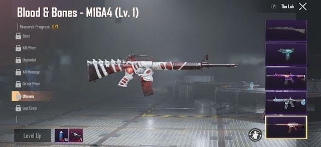 PUBG Mobile: Sezon 13 Yükseltilebilir Silah Kaplamaları Sızdırıldı!