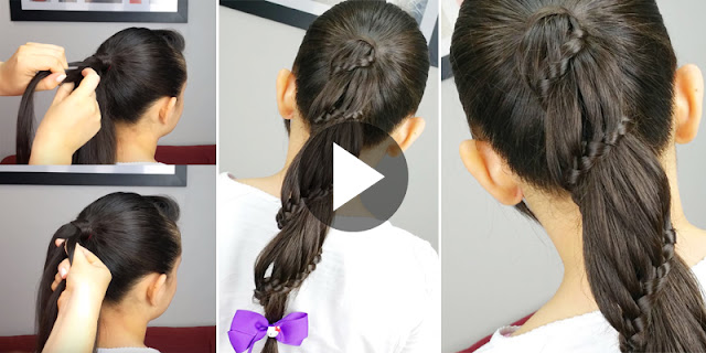 How To Create Carousel Braid Hairstyle, See Tutorial