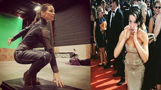 Hollywood SuperStar Evangeline Lilly Beautiful Selfie