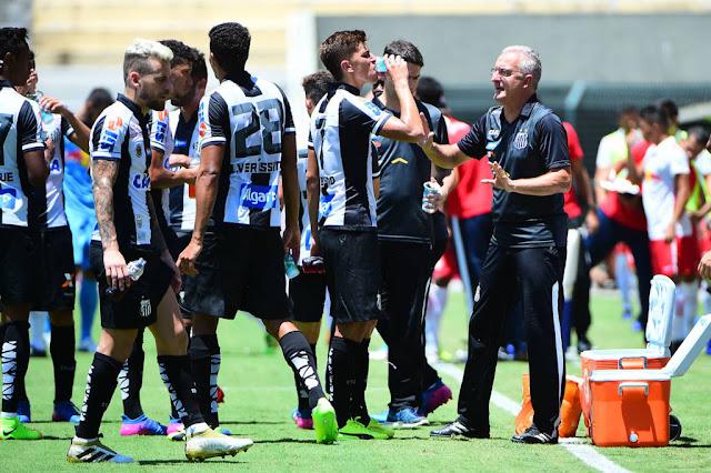 Contra o São Paulo, o time de Dorival Júnior buscará manter o 100% de aproveitamento no Paulista (Foto: Sergio Barzaghi/Gazeta Press)