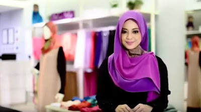 Tutorial Hijab Dua Warna Untuk Lebaran Super Simple