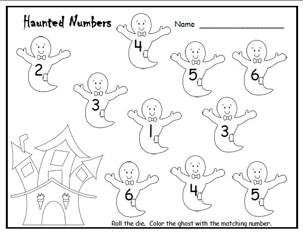 Free Printable Halloween Math Worksheets For Kindergarten ...