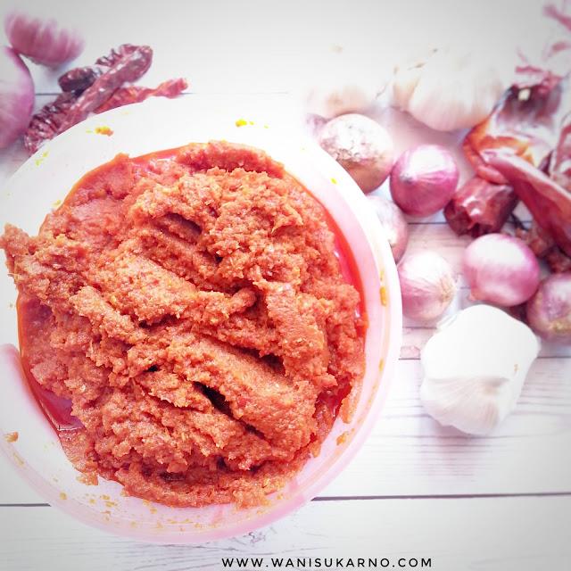 resepi homemade sambal tumis yang mudah hanya 4 bahan sahaja