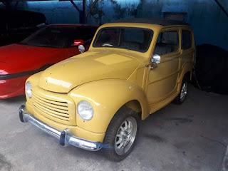 Mobil Antik Italia Dijual Fiat Topolino Cabriolet 1955