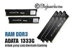 RAM DDR3 ADATA  1333G Untuk yang suka Bermain Gaming