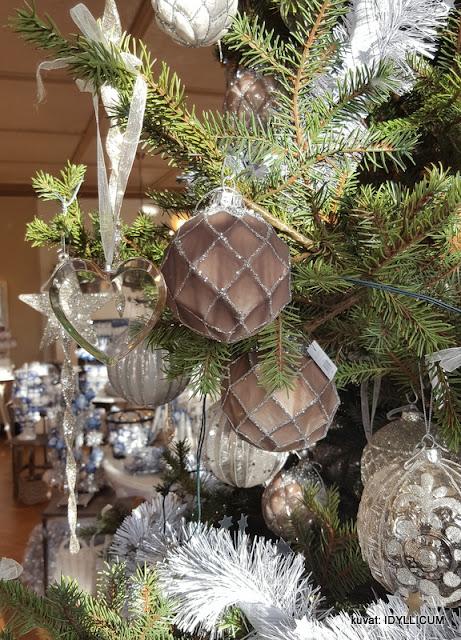 ihanat joulukoristeet kristallia_ Weiste Wanha Villa