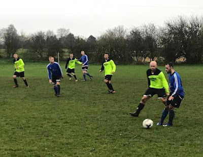 Football picture three - Barnetby United Reserves v Crosby Colts Reserves - December 1, 2018 used on Nigel Fisher's Brigg Blog