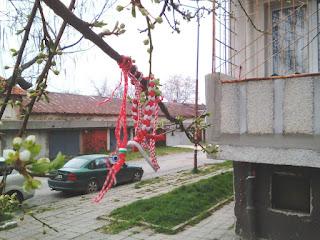 Martenitsa, Trees, Yambol, Stork,