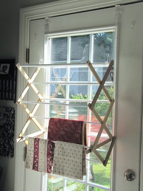 Sew Many Ways...: Tool Time Tuesday...Drying Rack for Sewing