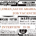 UAE,OMAN,SAUDI ARABIA JOB VACANCIES