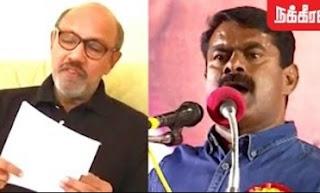Seeman Reaction on Sathyaraj's Apology