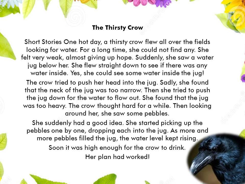 Cerita Dongeng Binatang Tentang Gagak Dan Terjemahan Contoh Cerita