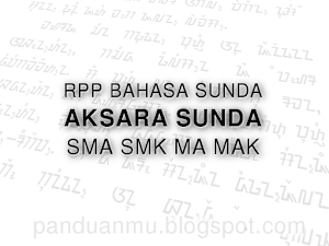 RPP Aksara Sunda SMA SMK MA MAK