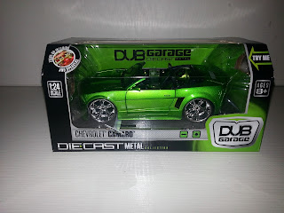 Enter to win 1:24 scale Chevy Camaro from DUB Garage, exp 5/19