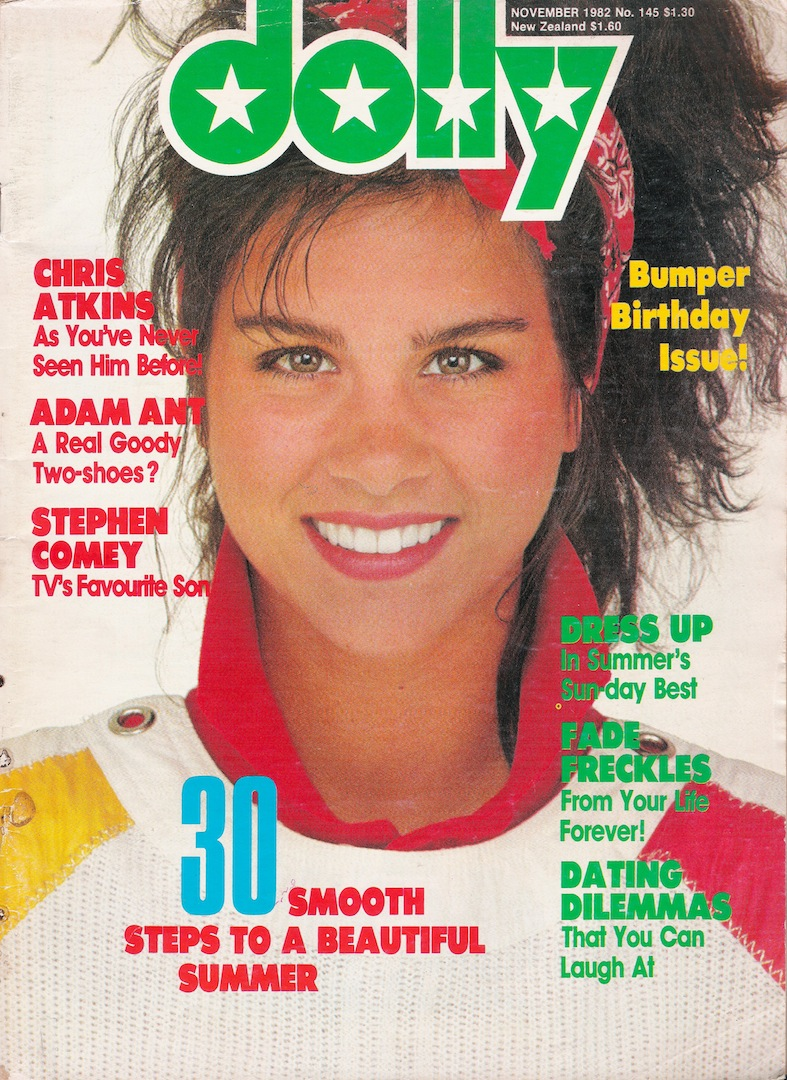 774e236a9c9c Glossy Sheen  Dolly Magazine November 1982