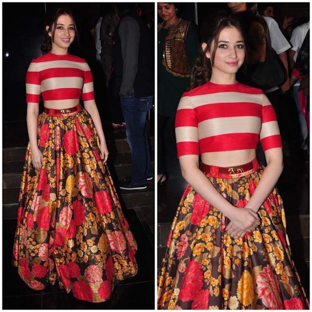 Bollywood Actress Saree Collections: Tamanna Bhatia In