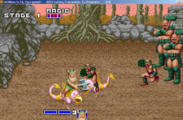Golden Axe - Stage 1 Bosses Screenshot