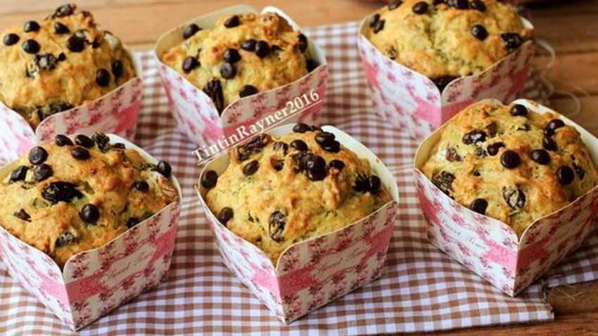 Resep Banana Muffin Simple dan Yummy