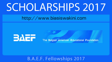 BAEF Fellowships 2017