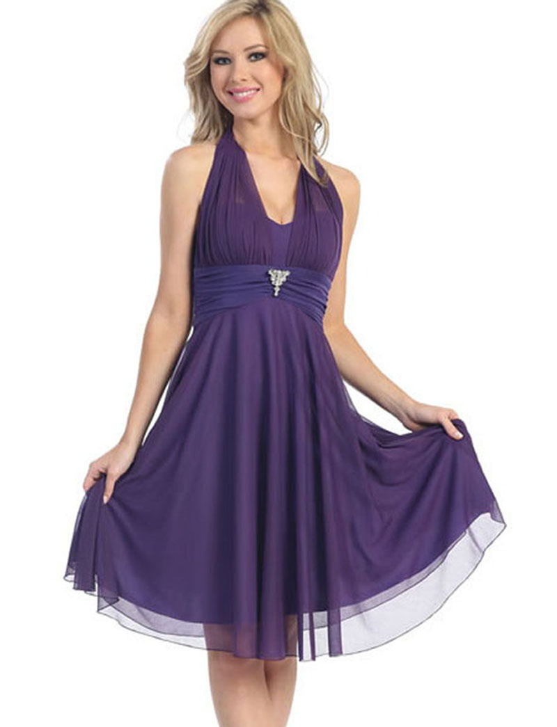 purple homecoming dresses  hairstyles 2013