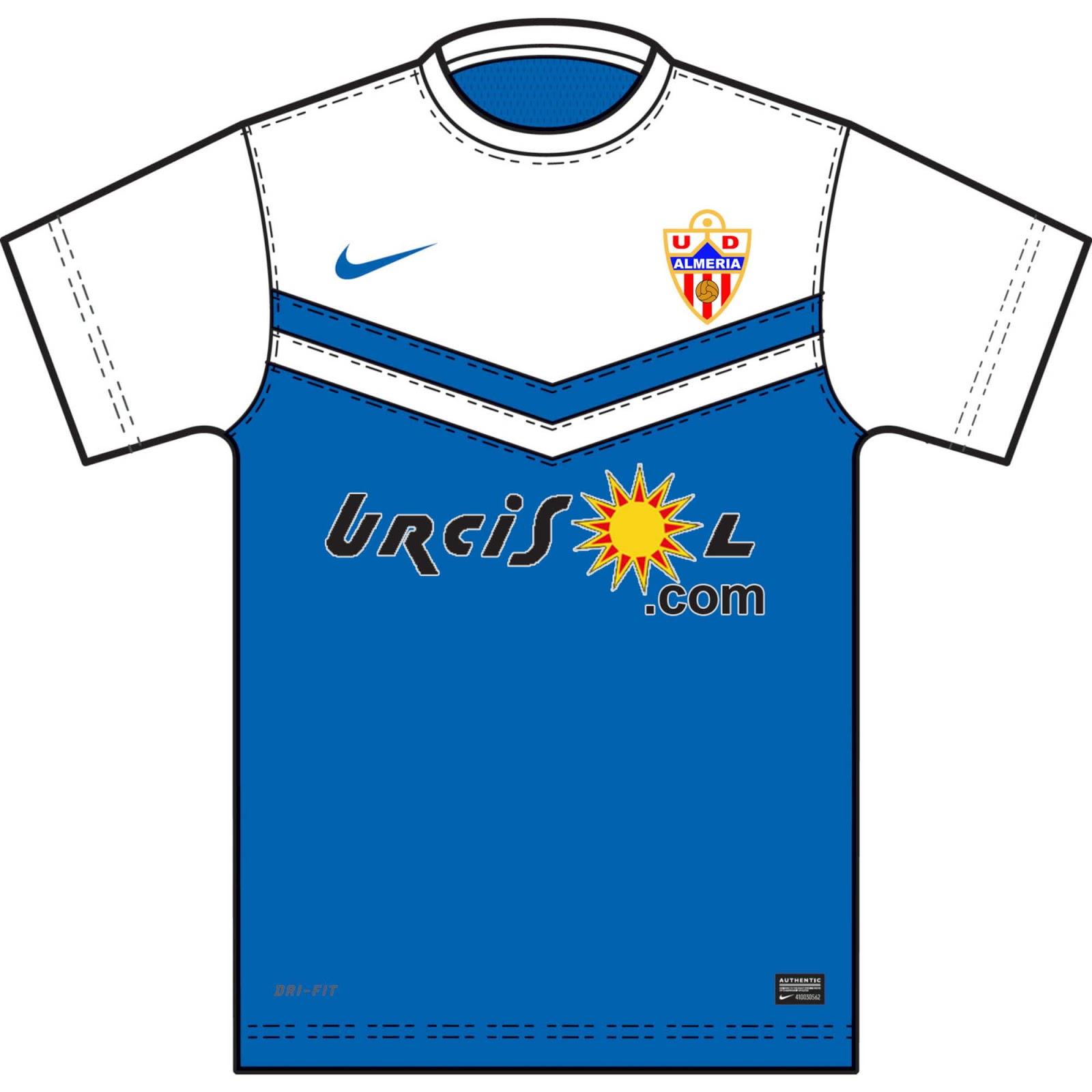 602b397914b Almería 2014-15 Away Shirt. This is the new Almería 14-15 Away Kit by Nike.