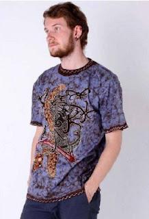Kaos Batik Modern Modis