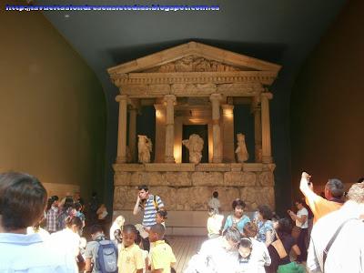 Templo griego en el British Museum