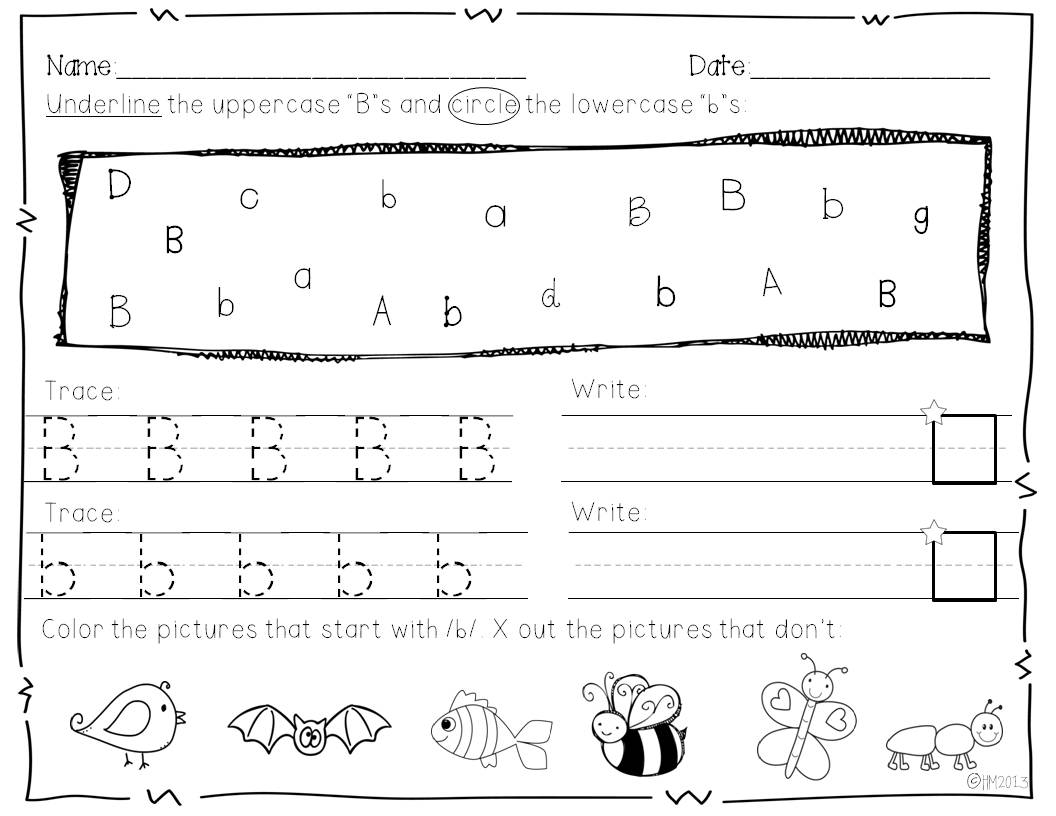 Christmas Kindergarten Literacy Worksheets Common Core