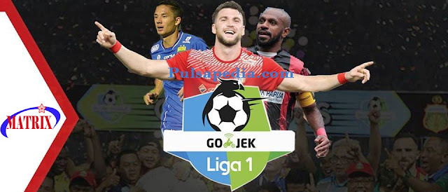 Paket Liga 1 All Channel Matrix Garuda