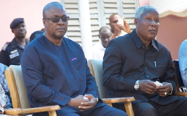 Mahama and E.T. Mensah