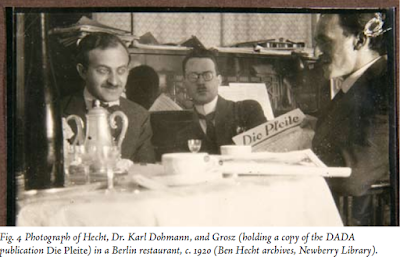Photo Grosz and Ben Hecht