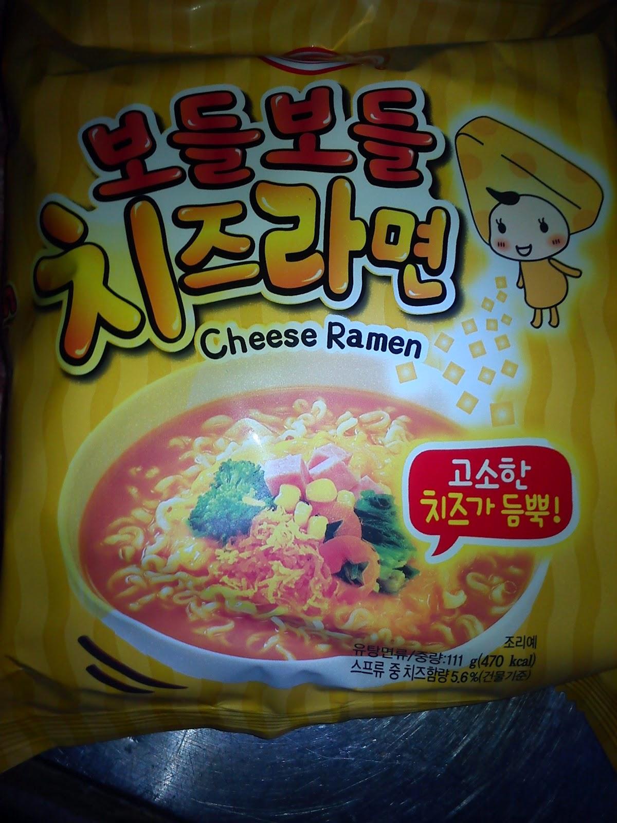 LCK: 韓國食品之芝士公仔麵